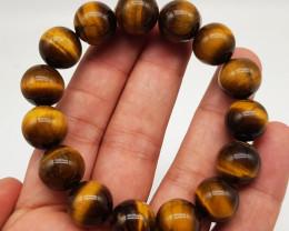 Natural Tiger Eye Bracelet 295.00 Carats