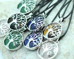 Eight Tree Of life Gemstone pendants code AHA 461