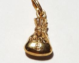 9k Gold charm  Code 1910006