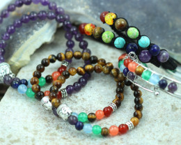 Wholesale 8 Chakra Bracelets code AHA 535