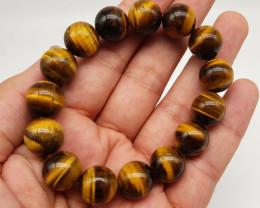 Natural Tiger Eye Bracelet 299.00 Carats
