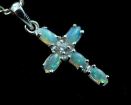Cute Stylish Crystal Opal Pendant CCC 3123