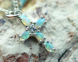 Cute Stylish Crystal Opal Pendant CCC 3124