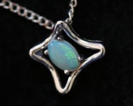 Cute Stylish Crystal Opal Pendant CCC 3133