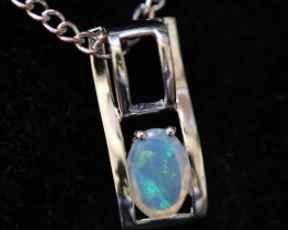 Cute Stylish Crystal Opal Pendant CCC 3140