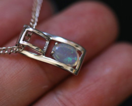 Cute Stylish Crystal Opal Pendant CCC 3142