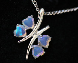 Cute Stylish Crystal Opal Pendant CCC 3150