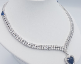 New Beautiful Style Topaz Necklace