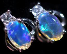 Cute Stylish Crystal Opal Earrings CCC 3518
