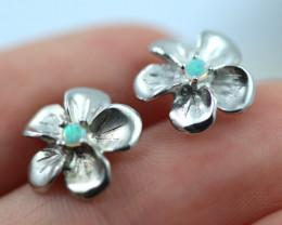 Cute Stylish Crystal Opal Earrings CCC 3552