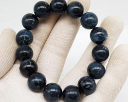 Natural Blue Tiger Eye Bracelet 292.00 Carats