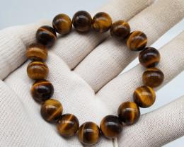 Natural Tiger Eye Bracelet 209.00 Carats