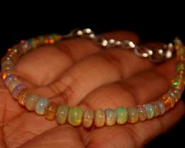 23 Crts Natural Ethiopian Welo Opal Bracelet 370