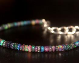 14 Crt Natural Ethiopian Welo Smoked Opal Bracelet 356