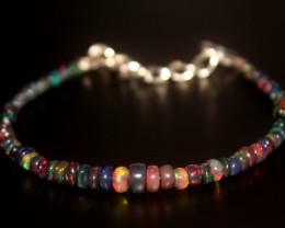 15 Crt Natural Ethiopian Welo Smoked Opal Bracelet 353