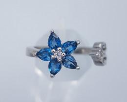 Landon Blue Topaz Ring
