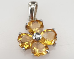 Natural Citrine Gorgeous Pendant