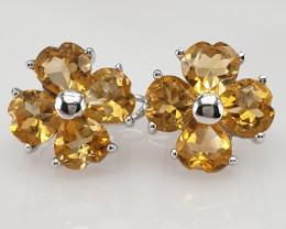 Natural Citrine Gorgeous Earrings.