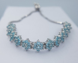 Natual Apatite Bracelet