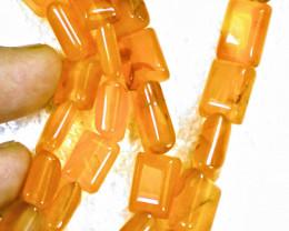 329.0 Tcw. Orange African Carnelian Necklace - Gorgeous