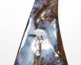 84ct Australian Boulder Opal Drilled Pendant