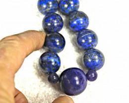 497.5 Tcw. Lapis Lazuli Bracelet - Gorgeous