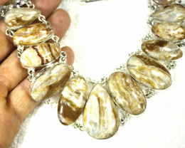 578.0 Tcw. African Jasper Necklace - Gorgeous