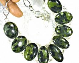 532.0 Tcw. Gogunjula Jasper / Sterling Silver Necklace - Gorgeous