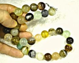 850.0 Tcw. Mixed Gemstone Necklace - Gorgeous