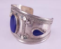 Beautiful Lapis Lazuali Cuff Bracelet