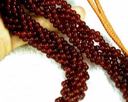 511.1 Tcw. Rhodolite Garnet Necklace - Gorgeous