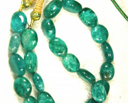 486.0 Tcw. Indian Emerald Necklace - Gorgeous