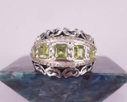Natural Beautiful Peridote Ring