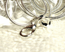 9.25 Sterling Silver Chains - 20 inches - 5 Chains
