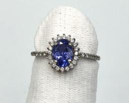 Ring-Tanzanite-Beautiful Color