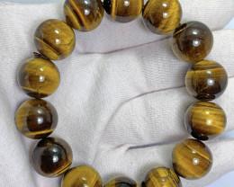 16mm tiger eye beads bracelet.