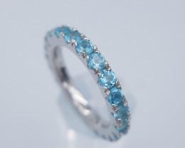 Natural Apatite Ring