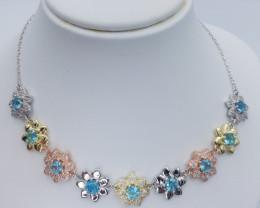 Natural Beautiful Apatite Necklaces