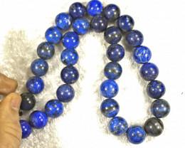 1050.0 Tcw. Lapis Lazuli Necklace - Gorgeous