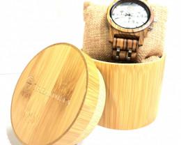 Female Treasures Eco Friendly Bamboo watch WO 166