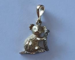 9K Gold Charm   Koala  Code 1910024