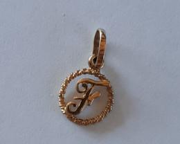 9K Gold Charm   F  Code  1910035