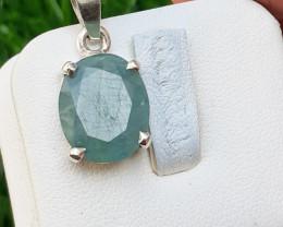 Natural Grandidirite 925 Silver Pendant