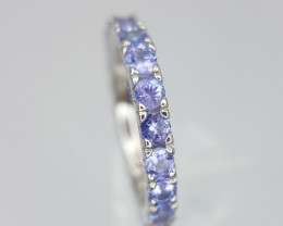 Top Tanzanite Ring in Silver 925.