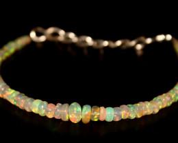 17.35 Crts Natural Ethiopian Welo Opal Bracelet 14