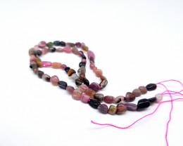 Natural Multicolor Tourmaline Beads Strands | 6mm Beads Strands | Tourmalin