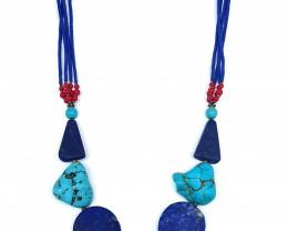 Lapis Lazuli Beautiful Natural Necklace 24 inch