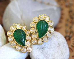 Unique and Custom Curated Hand Made Earrings  RT-10