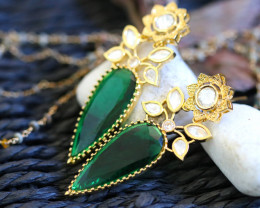 Unique and Custom Curated Hand Made Earrings  RT-13