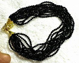 83.0 Tcw. Black Spinel Bracelet - Gorgeous